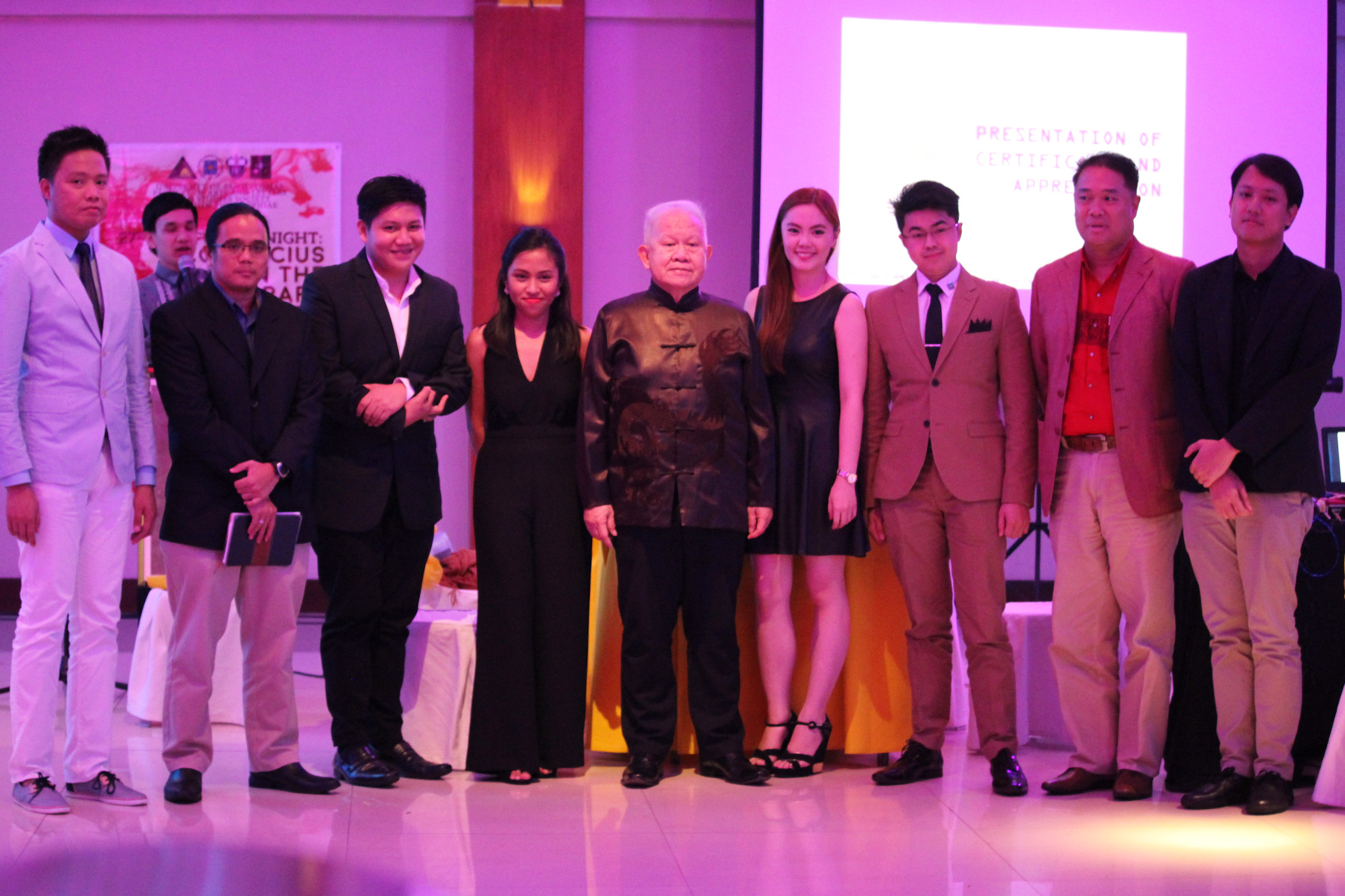 AS, Philo seniors celebrate 27th Confucian Night