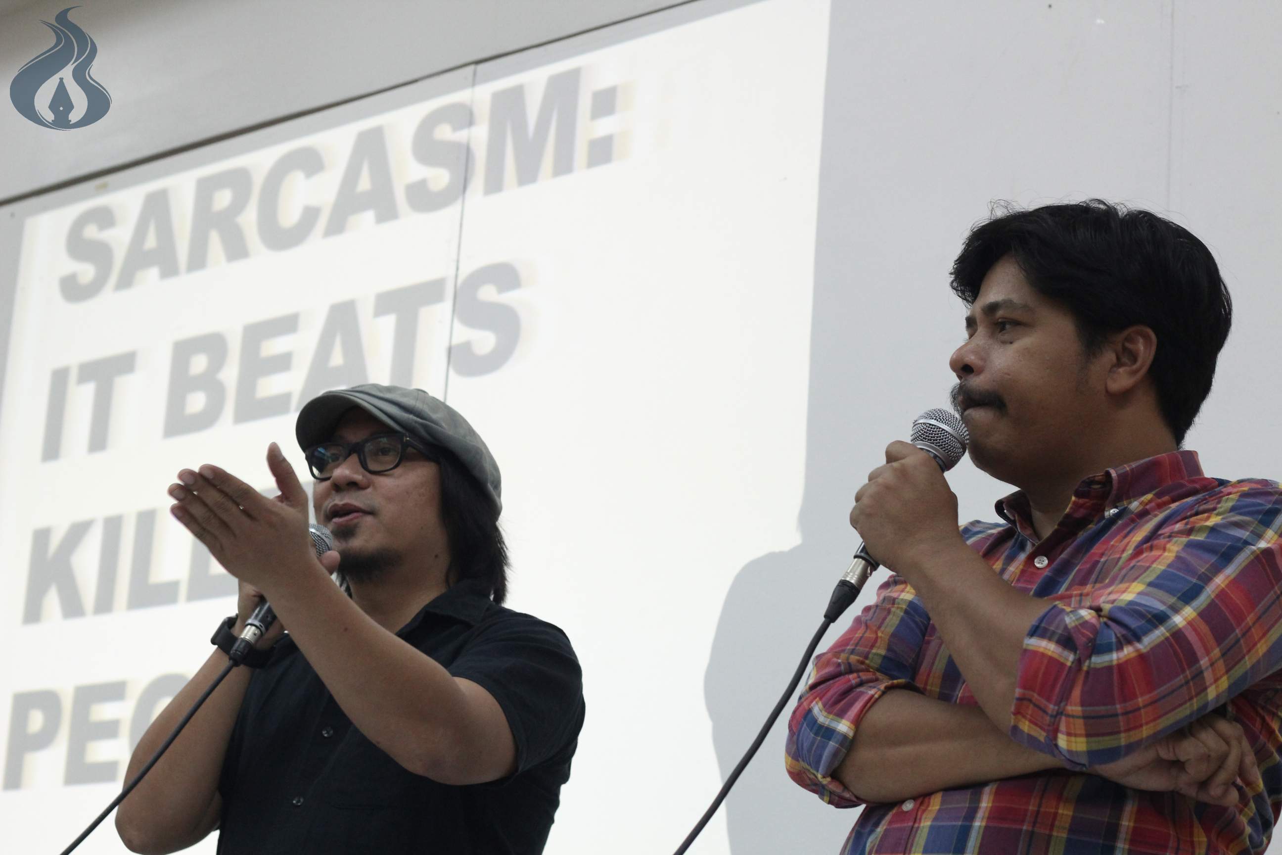 Political satire is tool for awareness, say De Veyra, Sabayton
