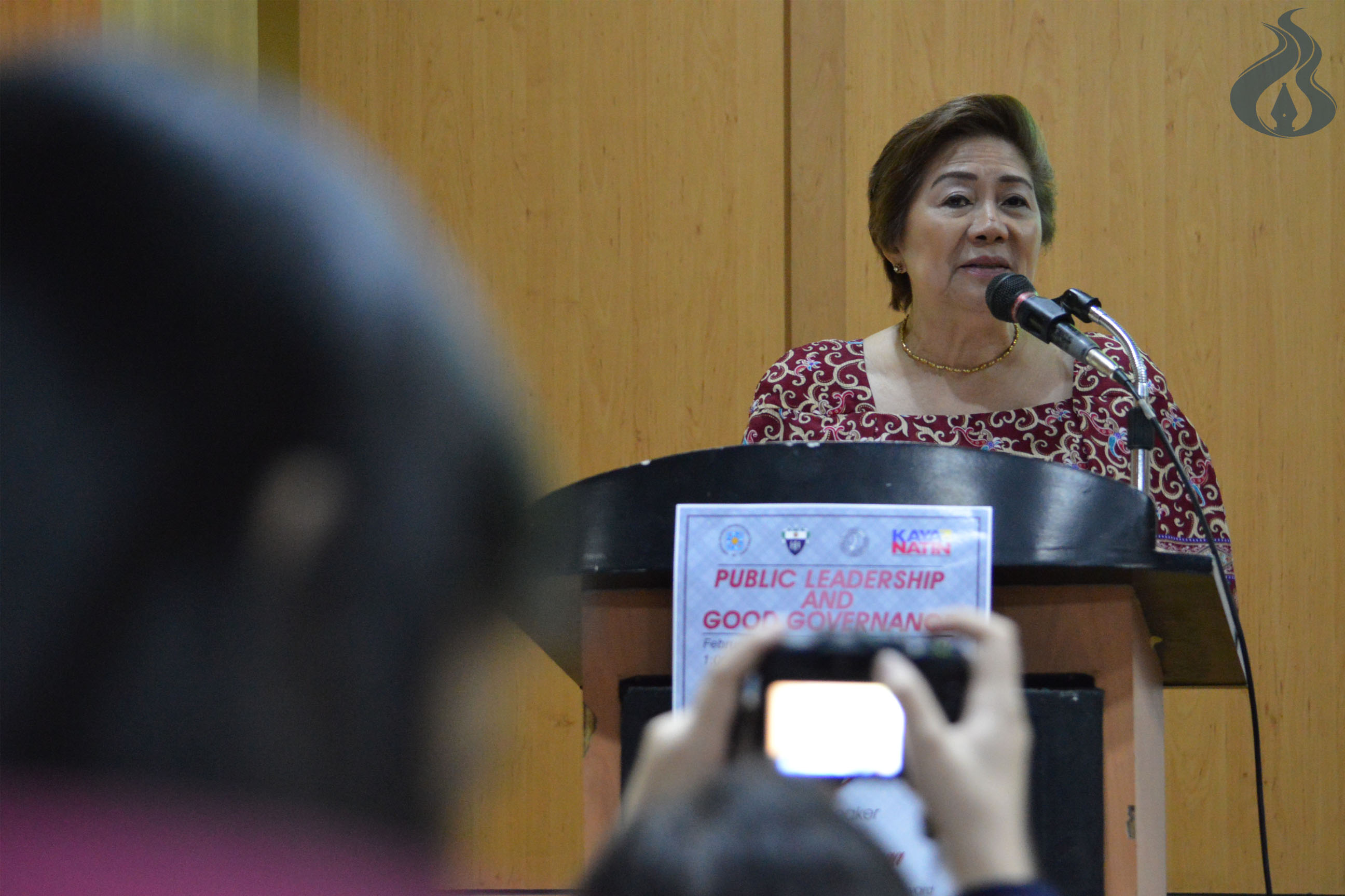 Collaboration of men and women contributes to better society, former mayor says