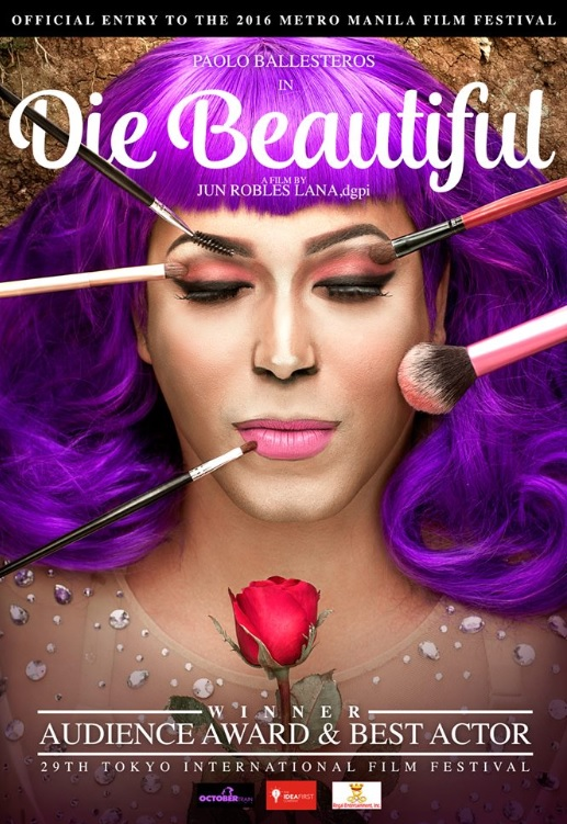 Poster grabbed from Die Beautiful Facebook page