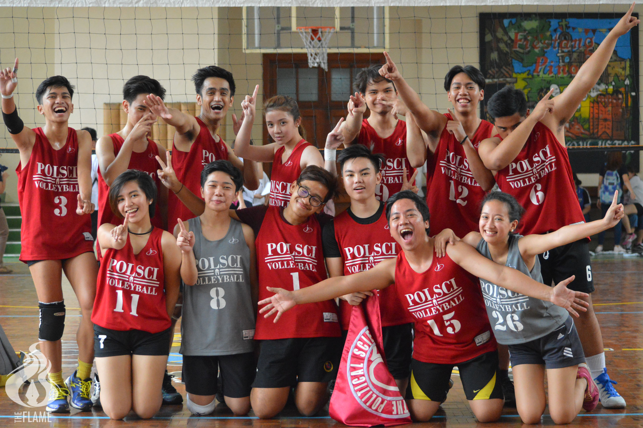PolSci is back-to-back AB Sportsfest volleyball champion