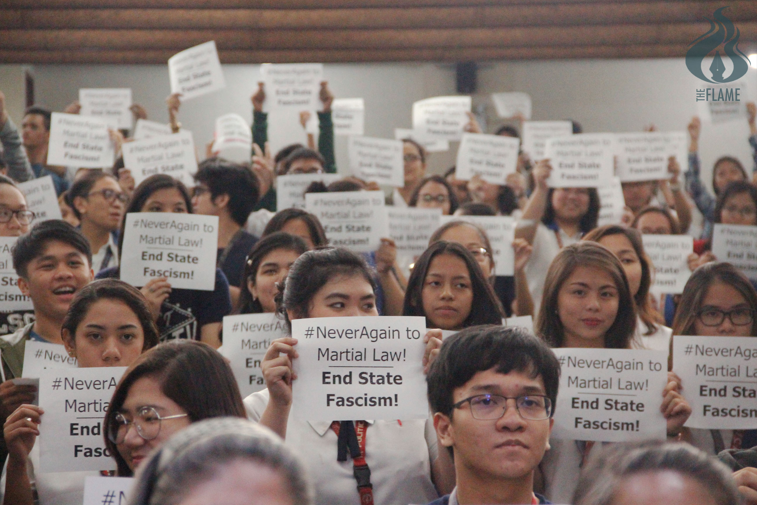 Thomasians urged to take a stand vs. Martial Law