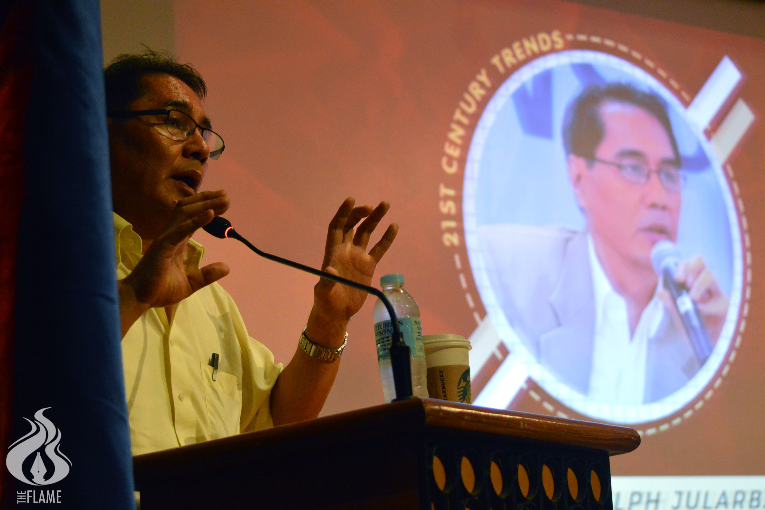 Be responsible reporters, media students told in a forum