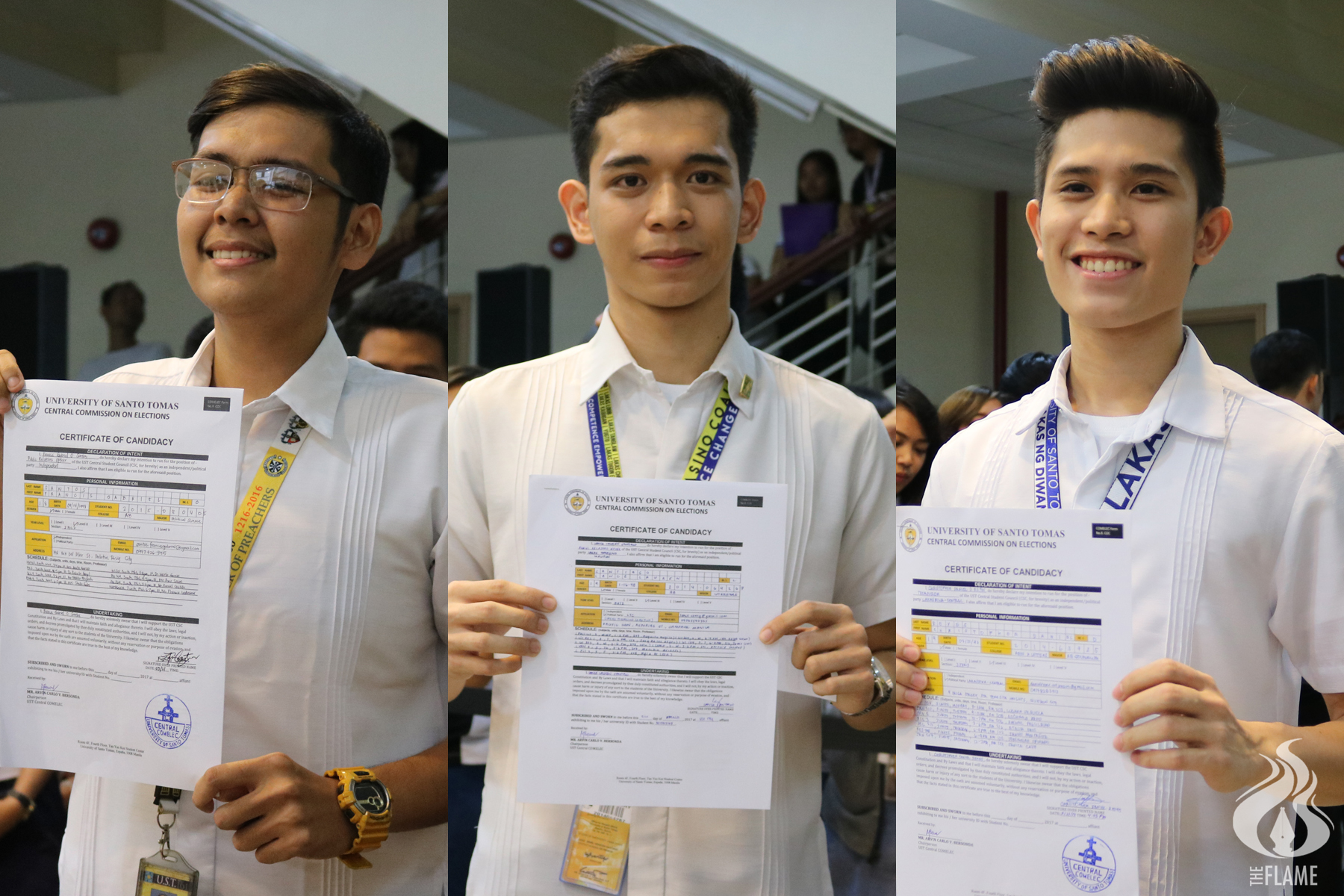 3 Artlets compete for CSC posts