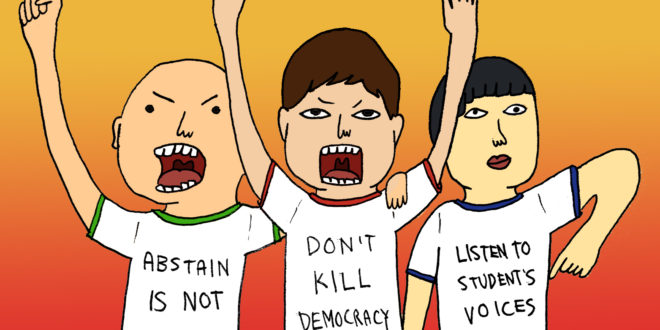 Apathetic or awakened?: Reflecting on Thomasians' rising involvement in campus politics
