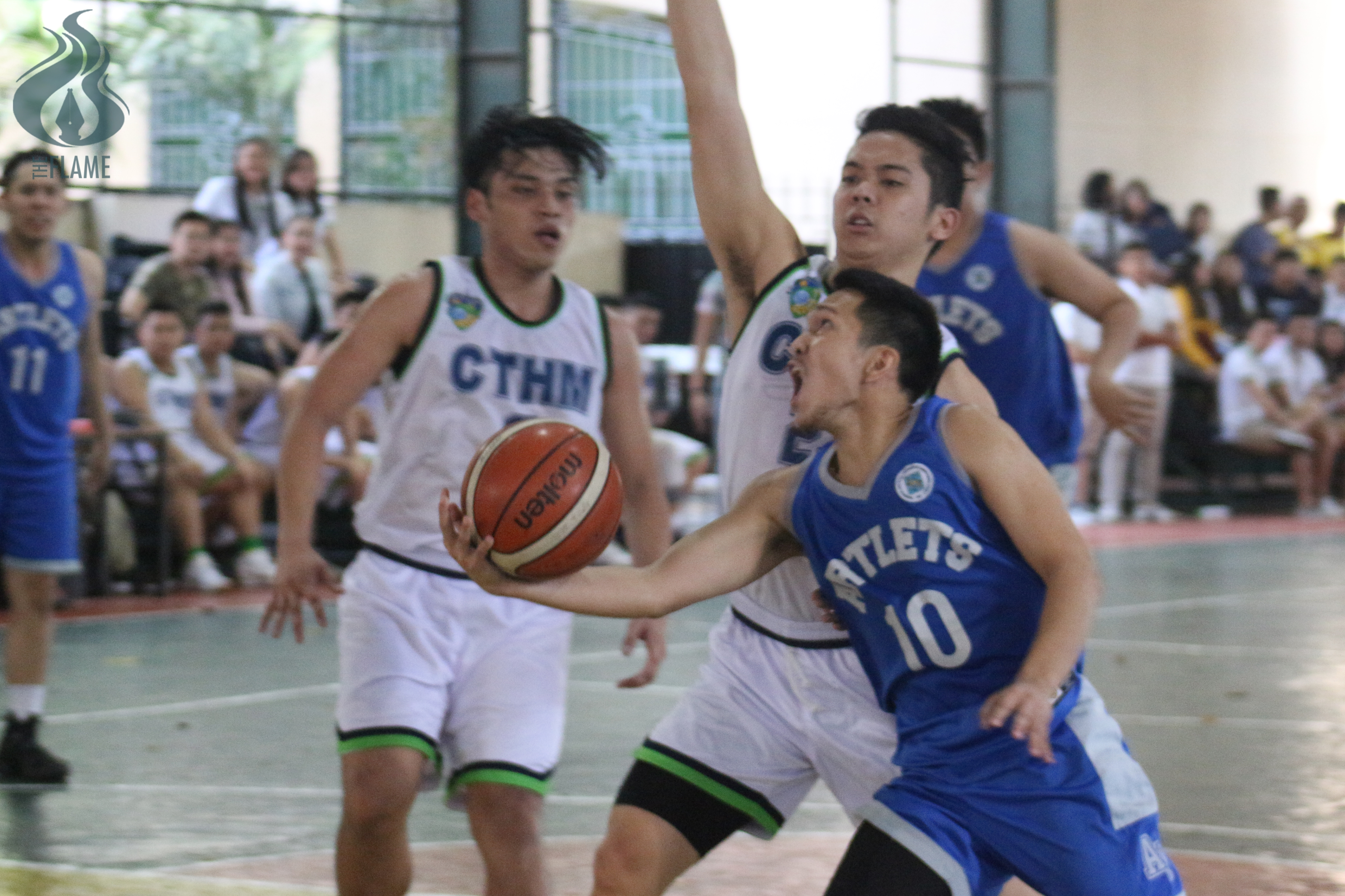 AB Men's sweeps elims round, clinches quarterfinals berth