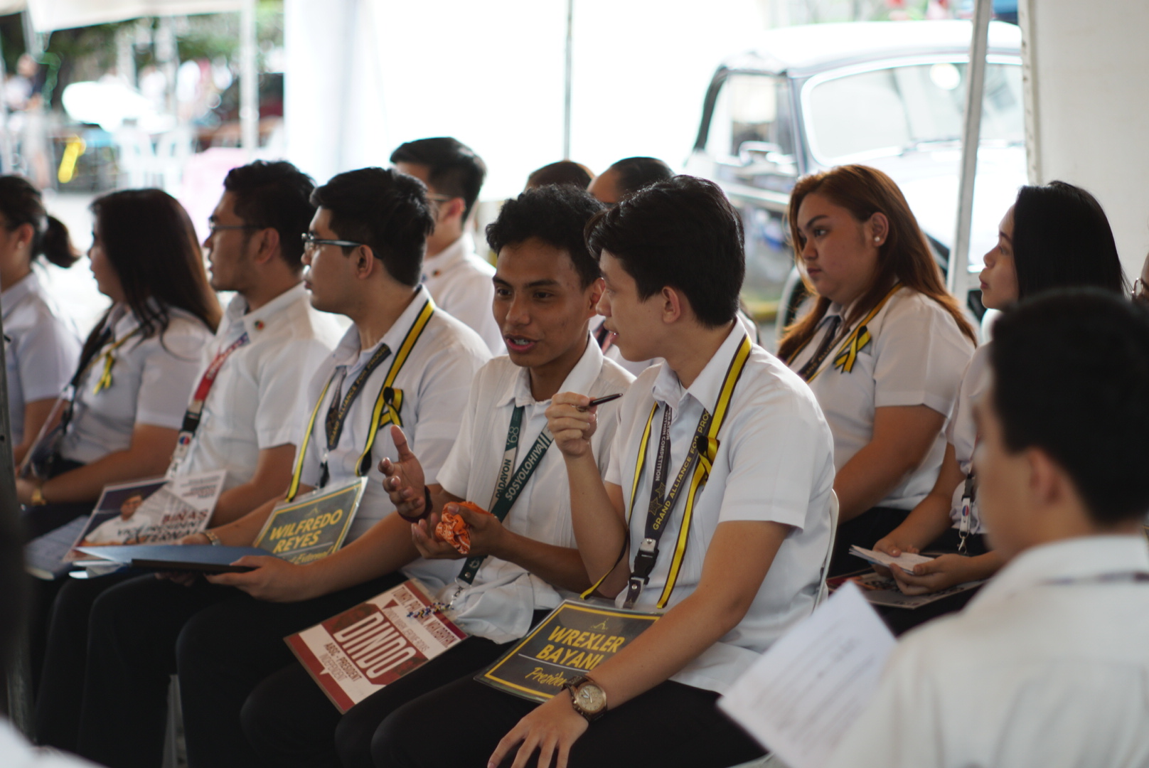 ABSC bets vow to work with Artlets, address gender-based issues