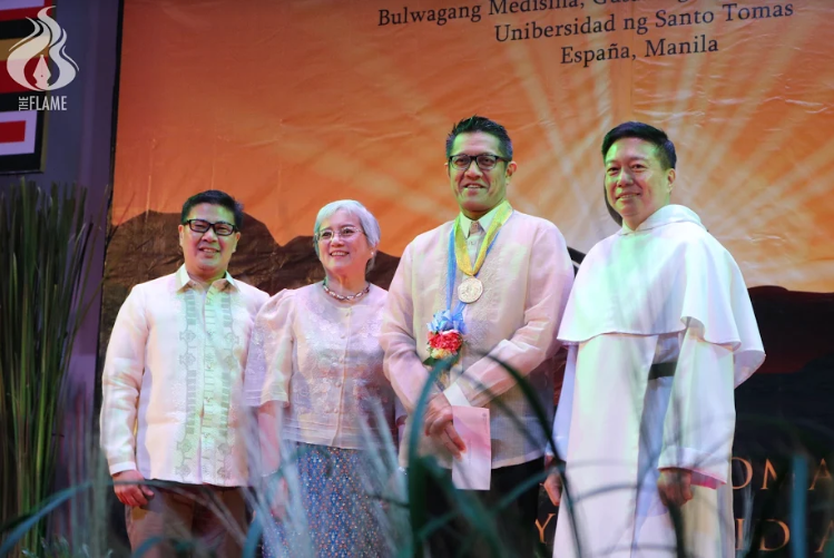 15 AB profs honored in Dangal ng UST