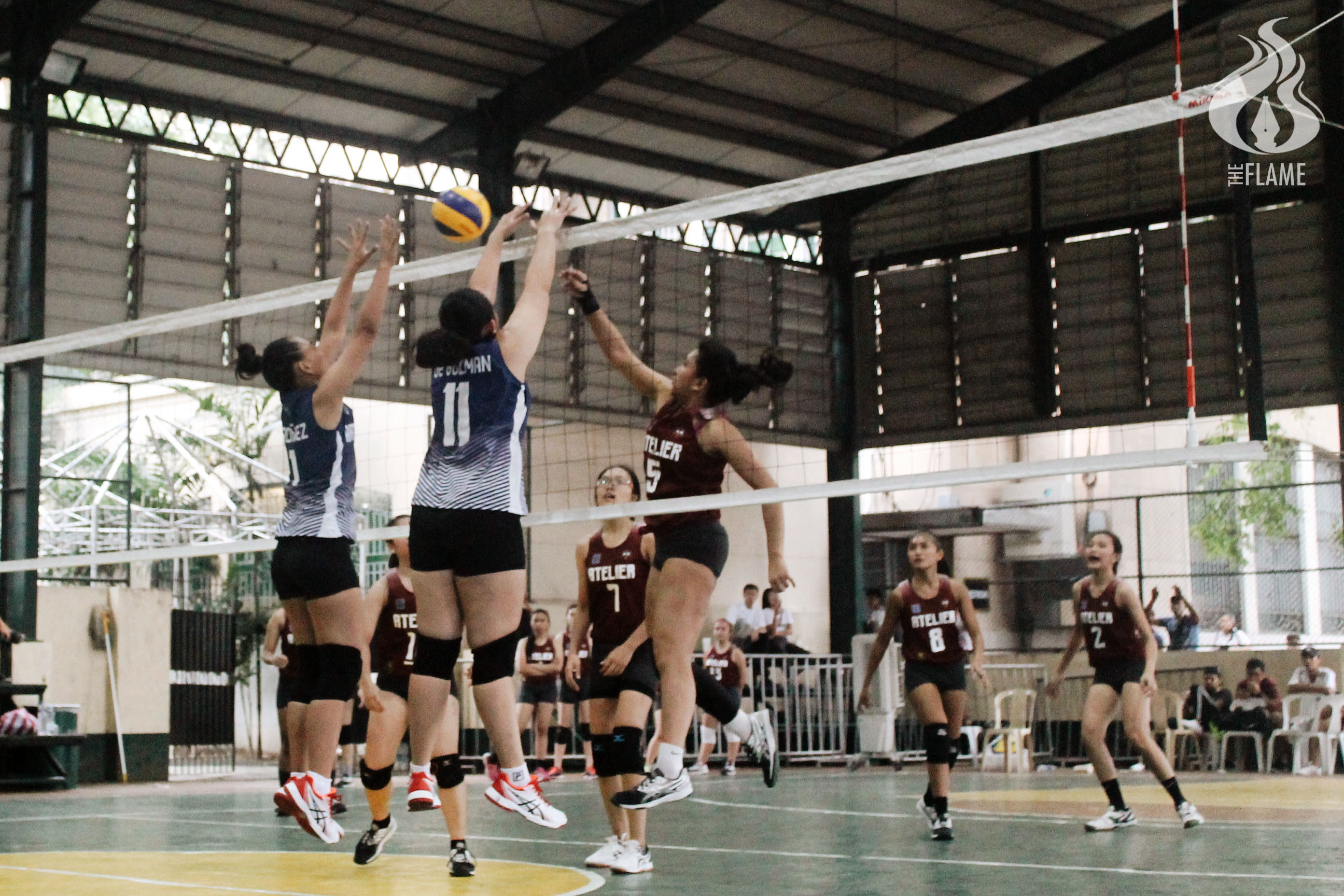 AB Women's Volleyball sweeps Arki for quarters spot