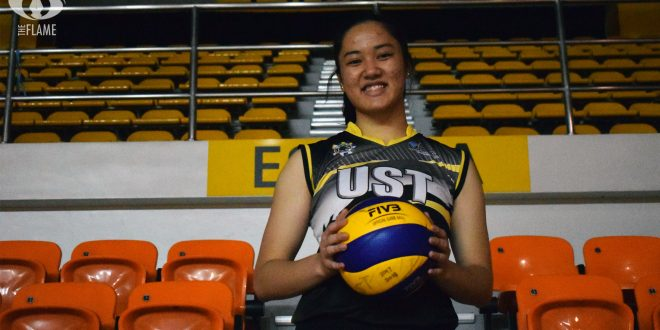 Christine Francisco brings passion to the court