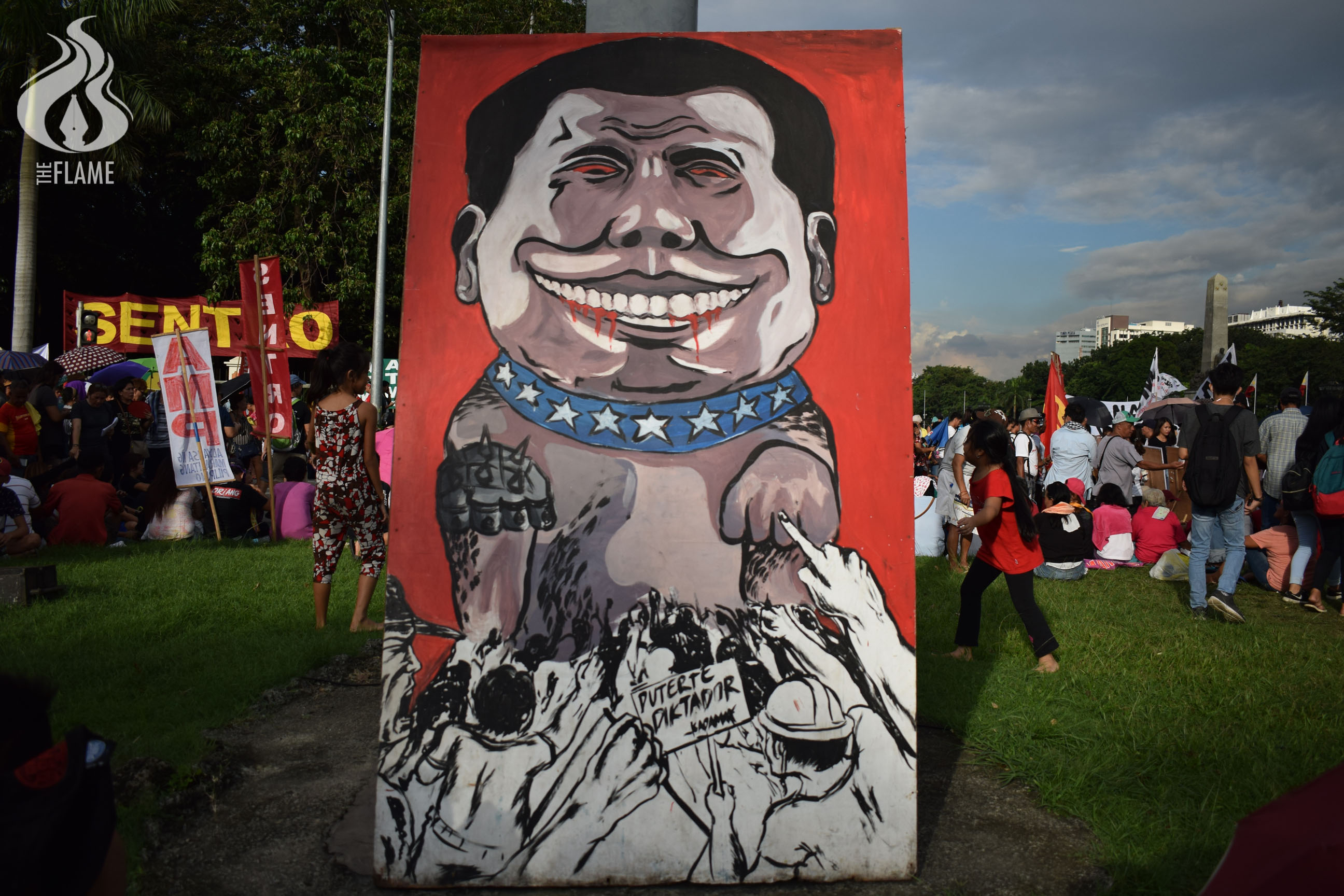 Art on the streets: Protest art during the martial law anniv