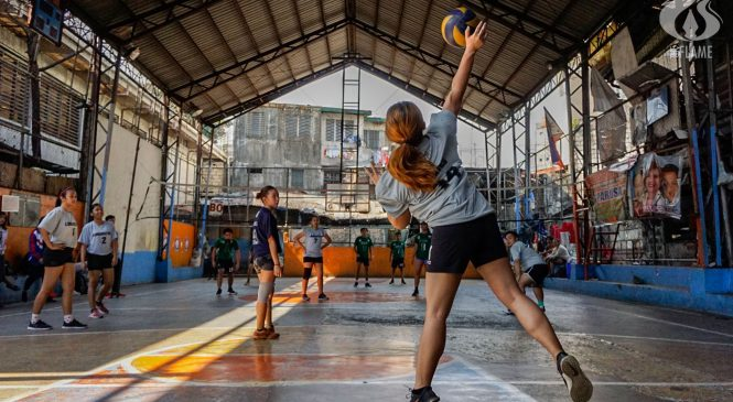 PolSci secures first semis spot in Athena volleyball; History, Socio, ASN post wins