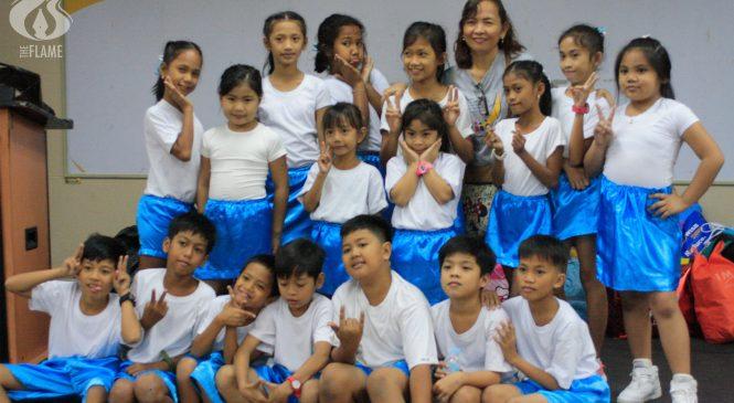 UST hosts 150 children for Makibata 2019