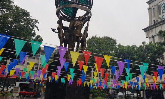 Rains dampen student participation in AB Org Fair