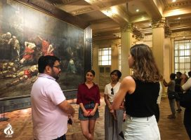 JournSoc, student pubs welcome Australian students for study tour
