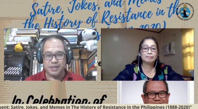'Laughter of dissent' can spark resistance, history prof says