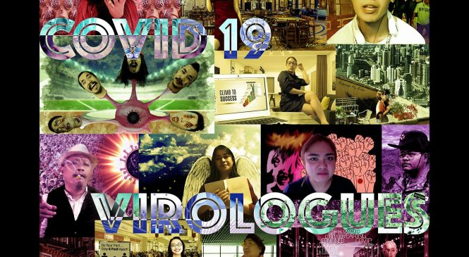 COVID 19 Virologues: Staging the Societal Plague