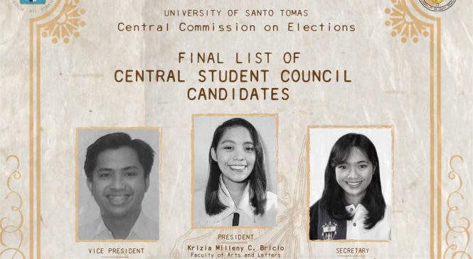 3 Artlets to run unopposed for CSC seats