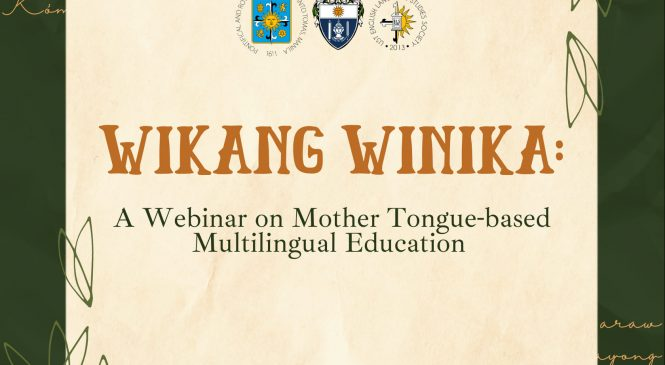 Strengthening mother tongue, key to students' effective learning—experts