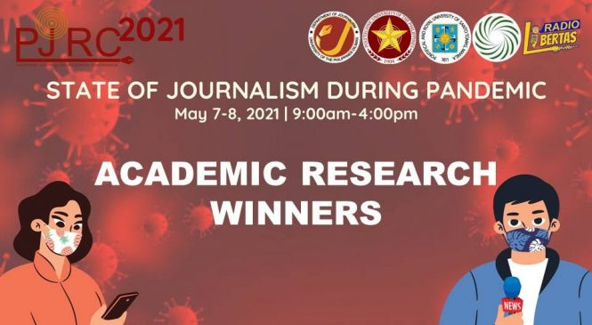 Journos bag awards in research conference