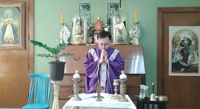 Dominican priest to AB community: Live our lives as if it is our last