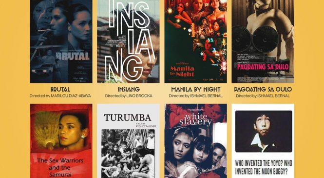 Where to watch eight Filipino classic films for free