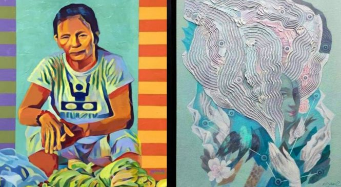 All Thomasian exhibit showcases the changing landscape of art